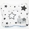 """Подушка """"Бабочка"""" 30х25 см ортопедическая для новорожденных верх 100% хлопок 4060 Белый 8"""