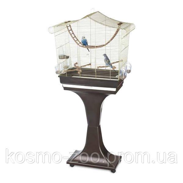 Imac СОФИЯ (SOFIA) клетка с подставкой для птиц, пластик, латунь