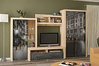 Стенка в гостиную Неон 2 от Мебель Сервис
