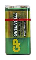 Солевой элемент питания GP Greencell Крона 16404GLF-6F22-9V - 1 шт.