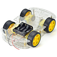 Платформа для робота Arduino (4 колеса, 4 мотора), фото 1