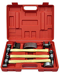 Набор рихтовочных инструментов 7 шт Quatros QS14753A