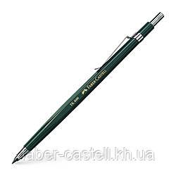 Цанговый карандаш  Faber-Castell TK 4600 HB 2.0 мм с точилкой в колпачке, 134600