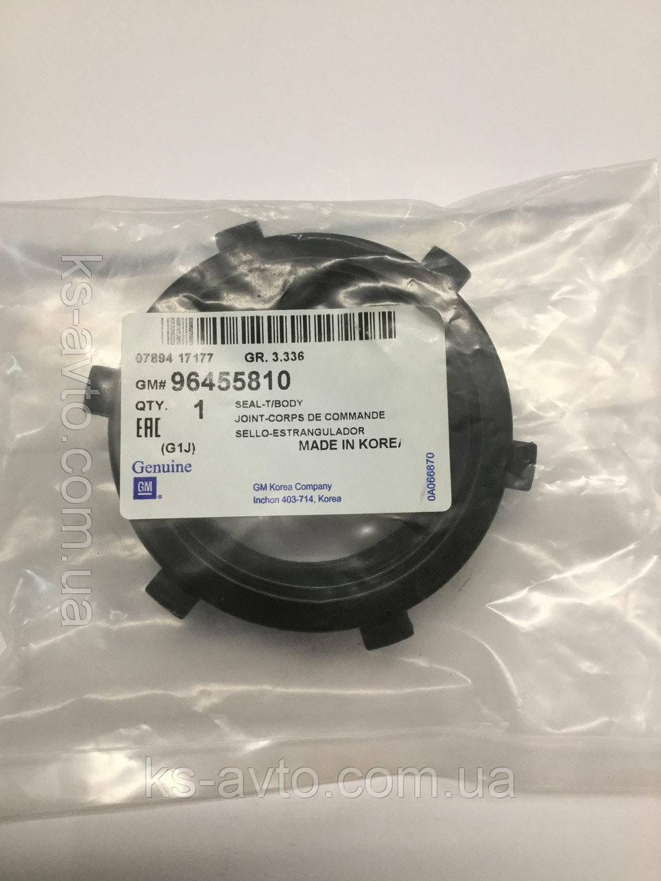 Прокладка впускного резонатора (корпуса дроссельной заслонки) Лачетти 1.8 GM