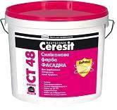 СТ-48 Краска силиконовая база Ceresit - 10 л