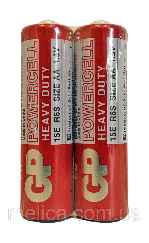 Батарейки GP Powercell Heavy Duty АА 15E R6S - 1 штука