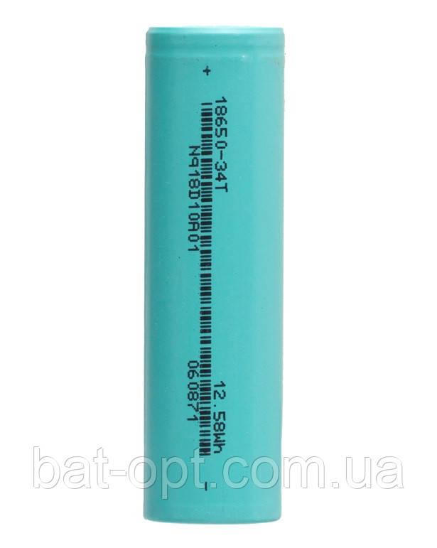 Аккумулятор литий-ионный Green 18650 3400mAh(без защиты)