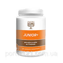 Витаминная добавка JUNIOR+ для котов и собак до 10 месяцев 200г