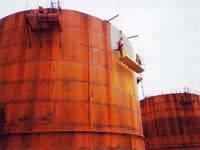 Ремонт резервуаров , нефтебаз, складов ГСМ с гарантией 5 лет , опыт 21 год, Информация об аналогичных работах