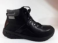 Мужские зимние Ботинки Термо Romika 5301R100 кожа черные(41-45р.) AA 44 a3938ce5701