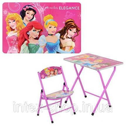 Детский столик DT 19-14 Принцессы, фото 2