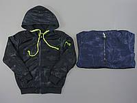 Ветровка с наушниками для мальчиков S&D оптом, 8-16 лет., фото 1