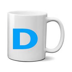 Печать на чашке