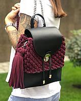 3cd2fd13ed41 Кожаные женские сумки-рюкзаки в Украине. Сравнить цены, купить ...