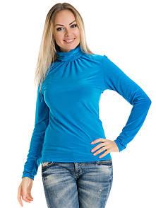 Гольф жіночий Irvik VV33 блакитний
