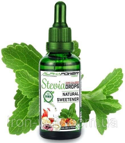 ALPHAPOWER FOOD Stevia Drops 50 ml