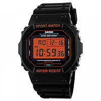 Часы Skmei 1134 BK- Orange Digital BOX (1134BOXBKORD)