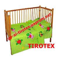 Детское постельное в кроватку«Лунтик»