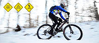 Катание на велосипеде  в зимний сезон 5 советов от Vlagman Velo