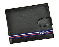 Портмоне мужское Always Wild (N992L-GV) кожаное черное, фото 1
