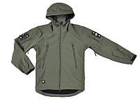 Тактическая куртка-софтшелл Tad Gear Stealth, материал Shark skin, фото 1