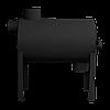 Отопительная печь на дровах Брест 200 с вертикальным выходом теплого воздуха, фото 3