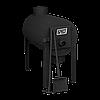 Отопительная печь на дровах Брест 200 с вертикальным выходом теплого воздуха, фото 5