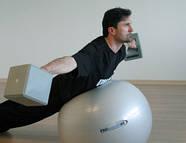 Гантеля-мяч Ledragomma Heavyball 0.9-3.0 кг, фото 2