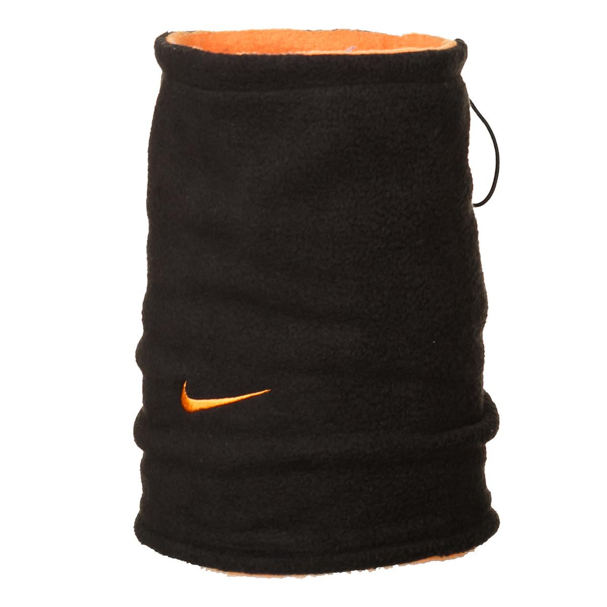 Двусторонний горловик (утепленный) Nike черно-оранжевый