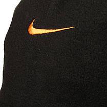 Двусторонний горловик (утепленный) Nike черно-оранжевый, фото 3