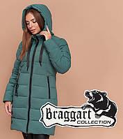 Braggart Simply    Зимняя женская куртка зеленая, фото 1