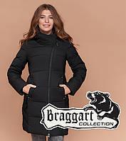 Куртка женская на зиму черная, фото 1