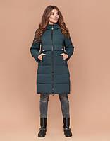 Зимняя женская куртка бирюза, фото 1