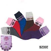 Женские махровые носки 37-42 Корона B2202 | 12 шт.