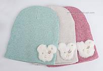 Набор шапочек разных цветов