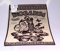 Полотенце банное махровое, Козаки, 70*140 см, оригинальное полотенце для бани