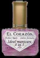 Основа под лак, закрепитель 427Ideal manicure 4 in 1 El Corazon