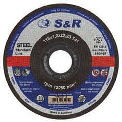 Круг відрізний по металу S&R Ѕиргеметипа A 60 R Slim 125