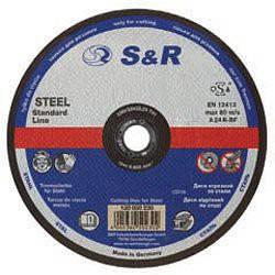 Круг відрізний по металу S&R Supreme типу A 24 R 150