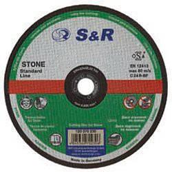 Круг відрізний по каменю S&R Standart типа C 24 R 150