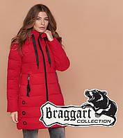 Braggart Simply 1929   Зимняя куртка женская красная