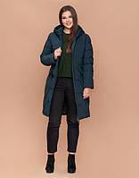 Braggart Diva 1901 | Зимняя куртка большого размера темно-зеленая, фото 1