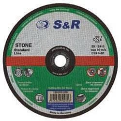 Круг відрізний по каменю S&R Standart типа C 30 P3 125
