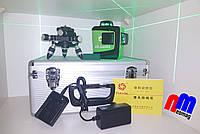 ☀Лазерный 3D уровеньFukuda MW 93Tgreen (3*360) [усиленный алюминиевый кейс]