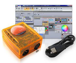 USB DMX контроллеры