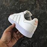 Женские кроссовки Adidas Superstar Tornasol. Живое фото. (Реплика ААА+), фото 3