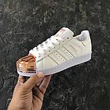 Женские кроссовки Adidas Superstar Tornasol. Живое фото. (Реплика ААА+), фото 2