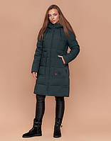 Braggart Simply 1926 | Зимняя женская куртка темно-зеленая