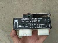 1J0919506L Блок управления вентилятором реле вентиляторов, фото 1