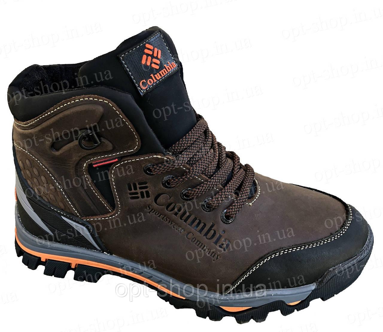 Мужские кожаные зимние ботинки Columbia реплика - Опт Shop в Харькове 4eb6eca9f09